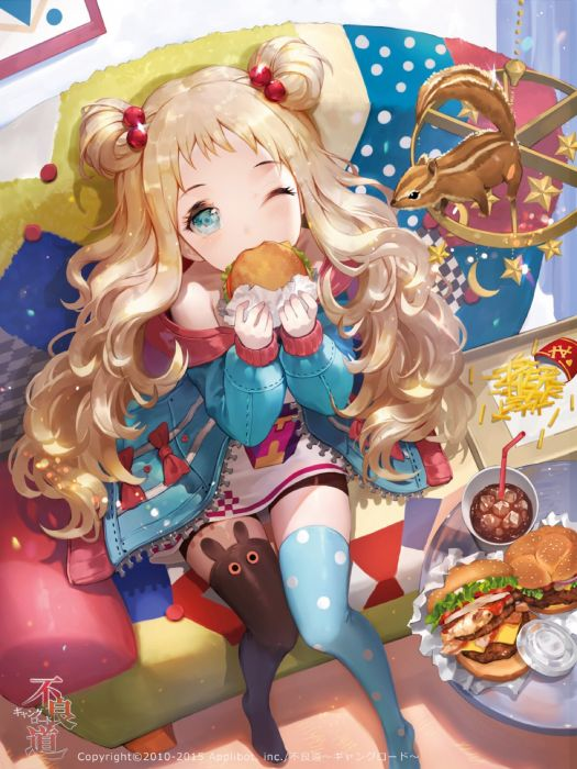 animal beverage blonde hair blue eyes child wallpaper