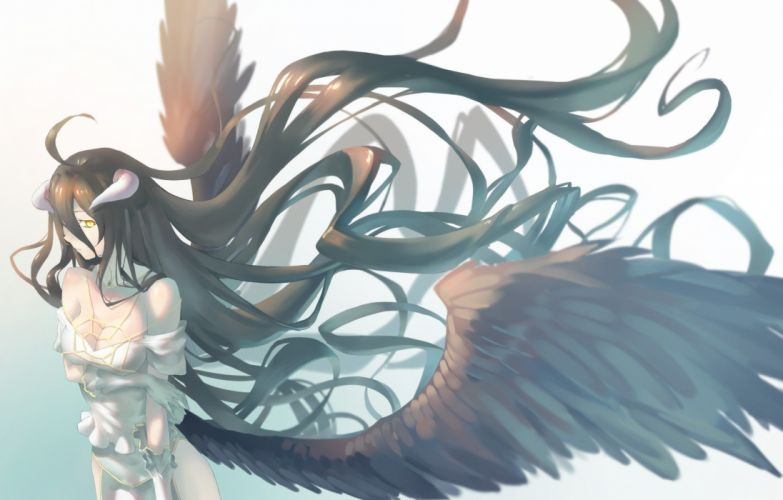 Albedo Overlord anime girl wallpaper