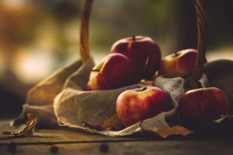 plants apples fruit food wallpaper