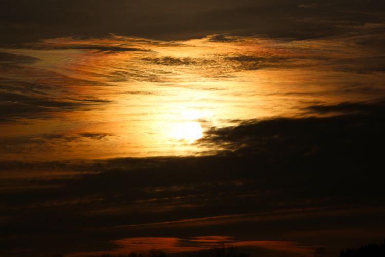 Sunset Night Sun Retina Nature wallpaper