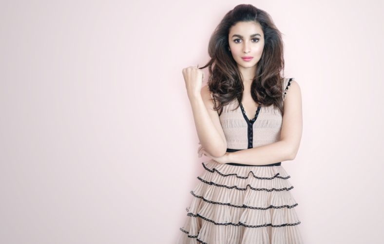 alia bhatt bollywood actress model girl beautiful brunette pretty cute beauty sexy hot pose face eyes hair lips smile figure indian wallpaper