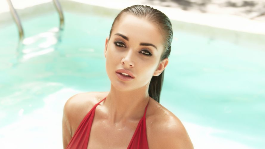amy jackson bollywood actress model girl beautiful brunette pretty cute beauty sexy hot pose face eyes hair lips smile figure indian wallpaper
