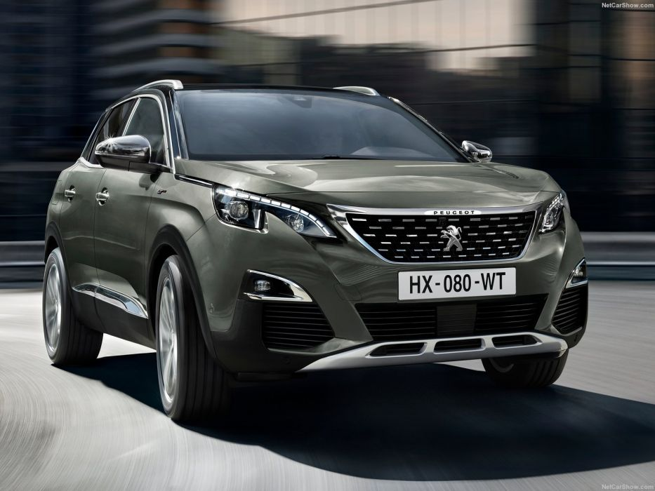 Peugeot 3008 GT-LINE cars suv 2016 wallpaper