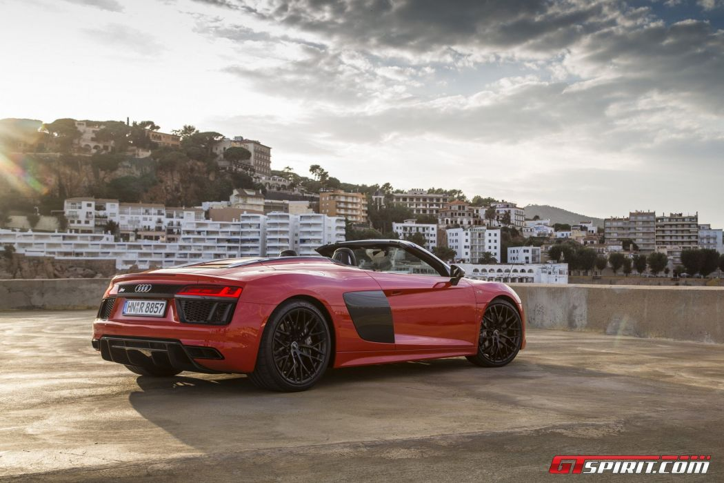 Audi-R8 V10 Spyder cars 2016 wallpaper
