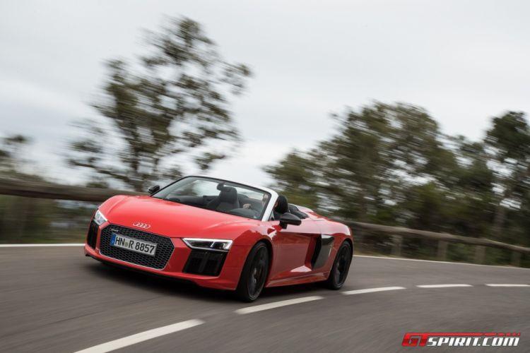 Audi-R8 V10 Spyder cars 2016 wallpaper