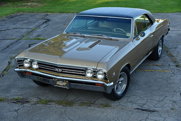 1967 Chevrolet Chevelle SS-396 cars classic coupe wallpaper