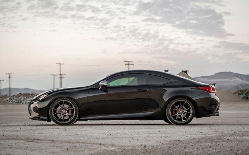 2016 Vorsteiner whells Lexu- RC cars coupe black wallpaper