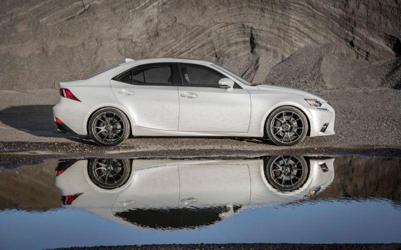 2016 Vorsteiner whells Lexus-IS cars sedan white wallpaper