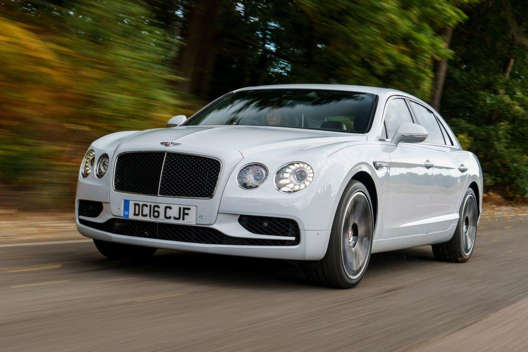 Bentley Flying Spur V8-S UK-spec cars luxury 2016 wallpaper