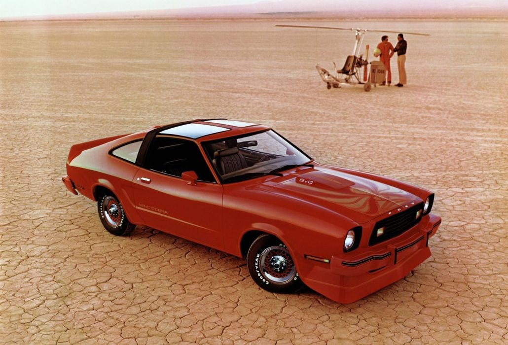 Ford Mustang MKII King Cobra T-Roof 1978 wallpaper