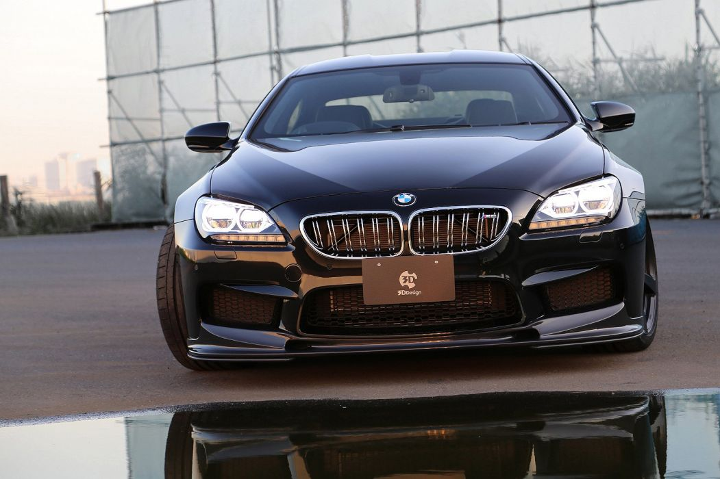 3D-Design BMW-M6 Gran Coupe (F06) cars modified black 2013 wallpaper