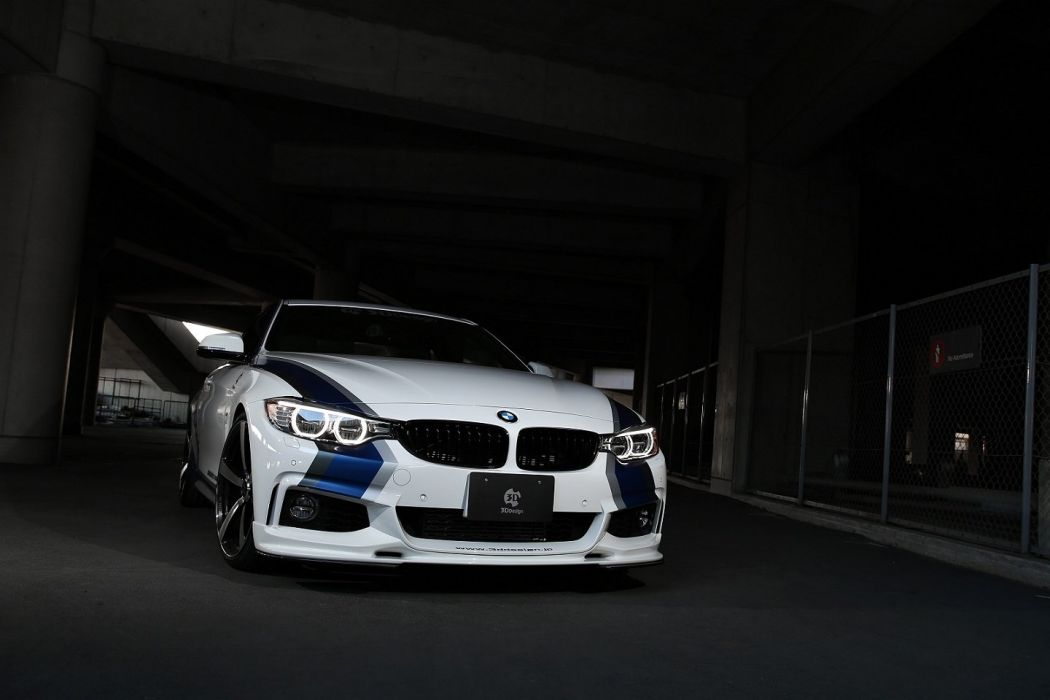 3D-Design BMW 435i Coupe M-Sport Package cars modified wallpaper