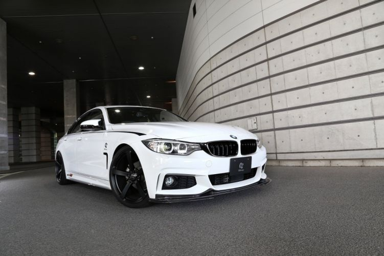 3D-Design BMW 4-Series Gran Coupe M-Sport Package (F36) cars modified 2014 wallpaper