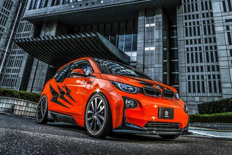 3D-Design BMW-i3 (I01) cars electric modified 2014 wallpaper