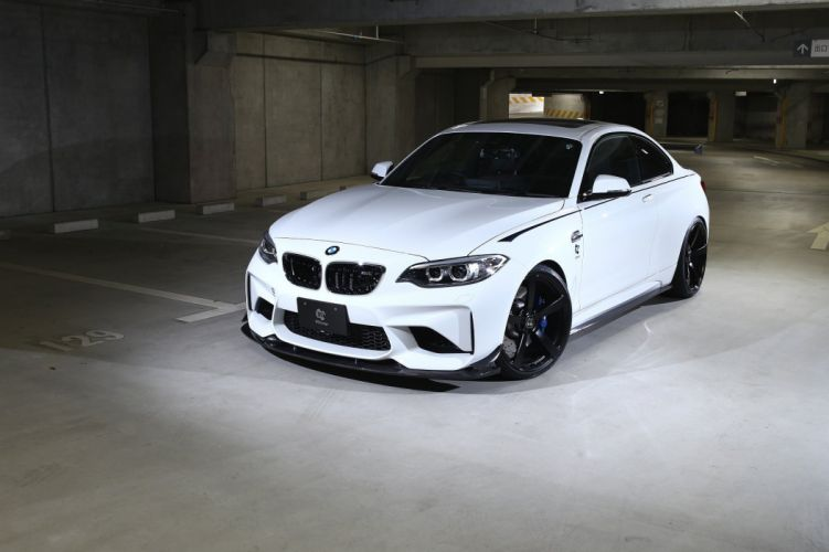 3D-Design BMW-M2 coupe cars modified (F87) cars 2016 wallpaper