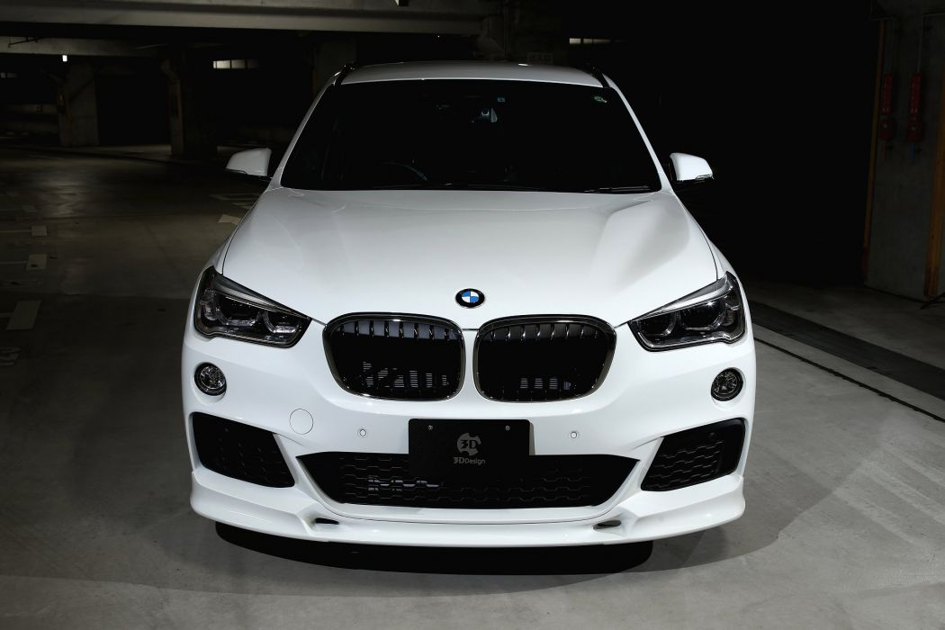 3D-Design BMW-X1 cars suv modified (F48) 2016 wallpaper