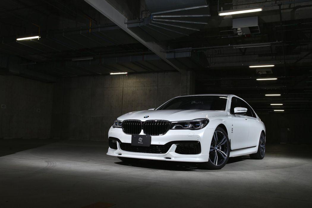 3D-Design BMW 740Li M-Sport (G12) cars modified 2016 wallpaper