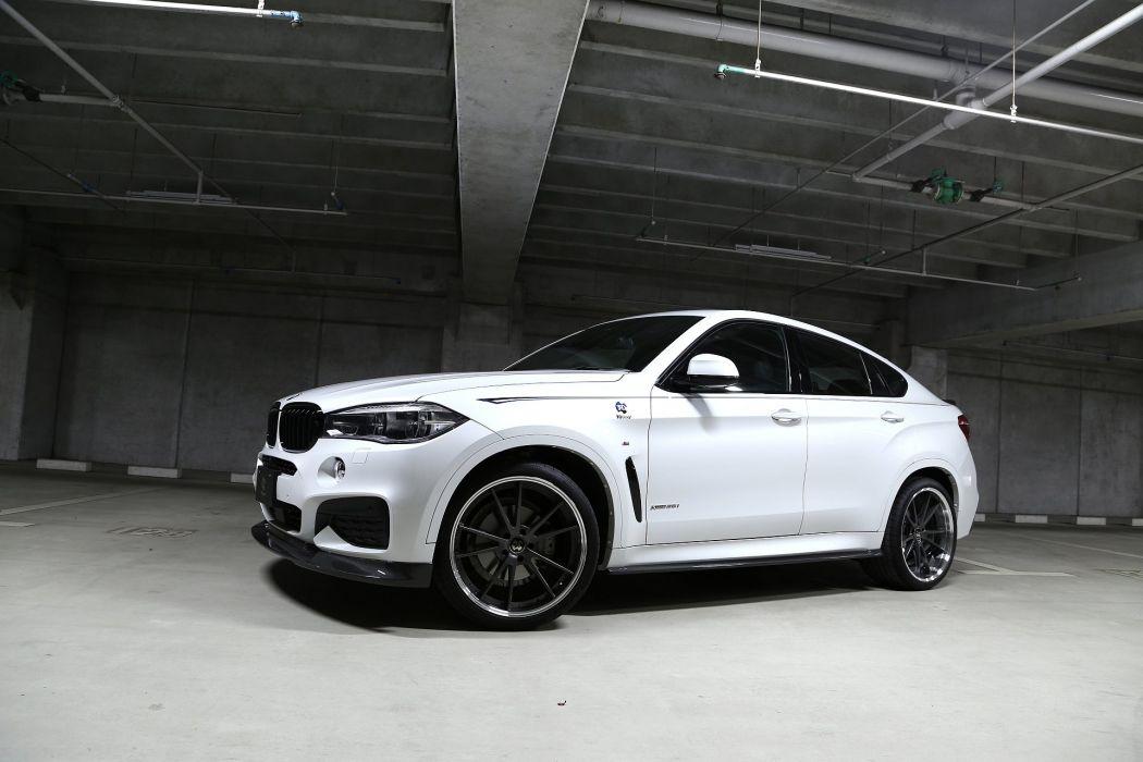 3D-Design BMW-X6 xDrive35i M-Sport (F16) cars suv 2016 wallpaper