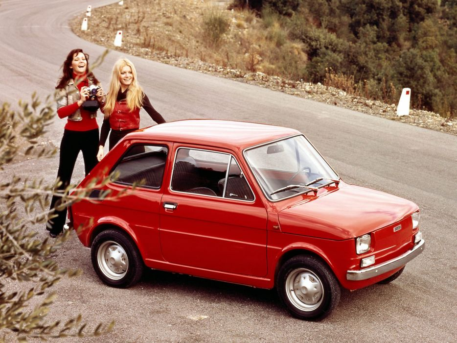 Fiat 126 1972 wallpaper