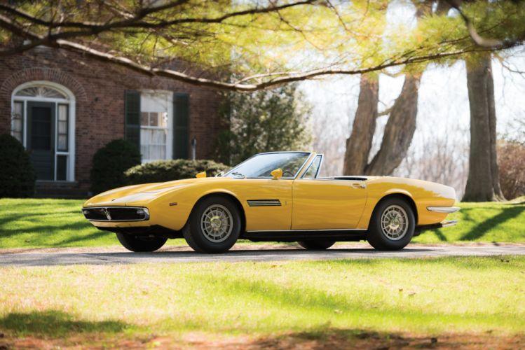 Maserati Ghibli Spyder Prototipo 1968 wallpaper
