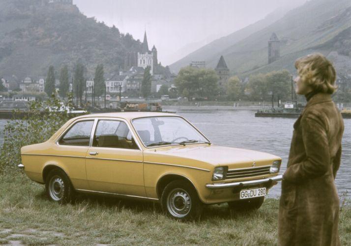 Opel Kadett 2-door Sedan 1973 wallpaper