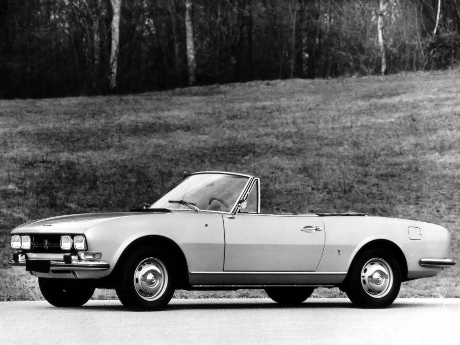 Peugeot 504 Cabriolet 1969 wallpaper