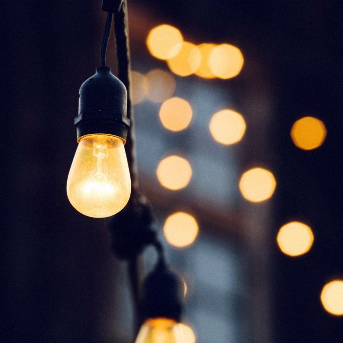 Light Bokeh Art City Living Home Dark wallpaper