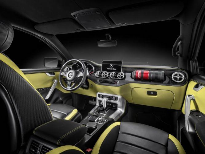 Mercedes Benz X-Class Pickup Concepts 2016 wallpaper