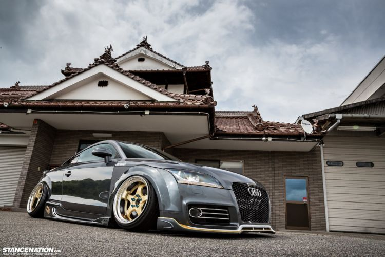 AUDI-TT cars coupe modified wallpaper