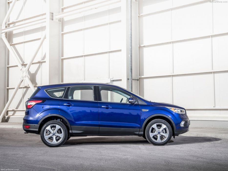 Ford Kuga cars suv 2016 blue  wallpaper
