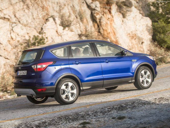 Ford Kuga cars suv 2016 blue wallpaper