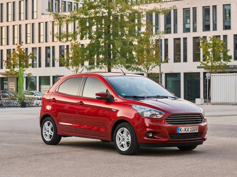 Ford Ka-plus cars 2016 wallpaper