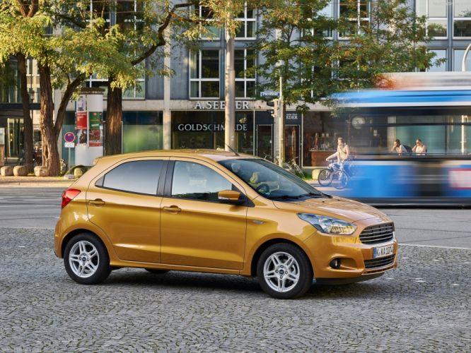 Ford Ka-plus cars 2016 wallpaper