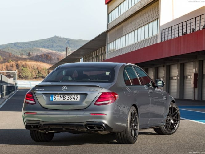 Mercedes Benz E63 AMG cars sedan 2016 wallpaper