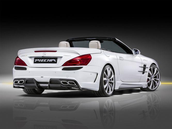 Piecha Design mercedes Avalange GTR (R231) cars modified white roadster2016 wallpaper
