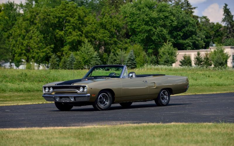 1970 Plymouth Road Runner Convertible cars classic wallpaper