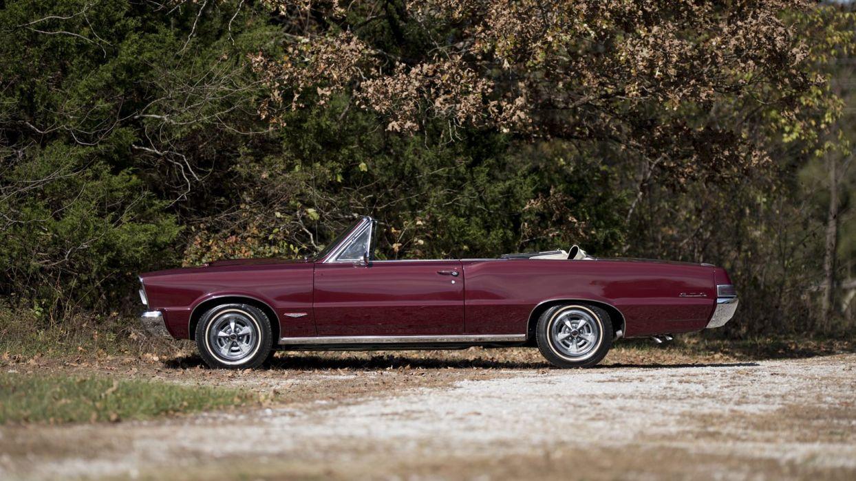 1965 PONTIAC GTO CONVERTIBLE cars classic wallpaper