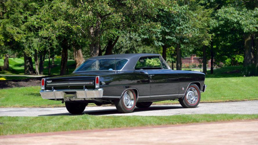 1967 CHEVROLET NOVA-SS cars black classic wallpaper