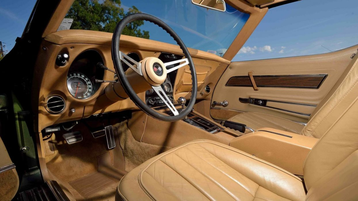 1970 CHEVROLET CORVETTE (c3) LT1 COUPE cars classic wallpaper