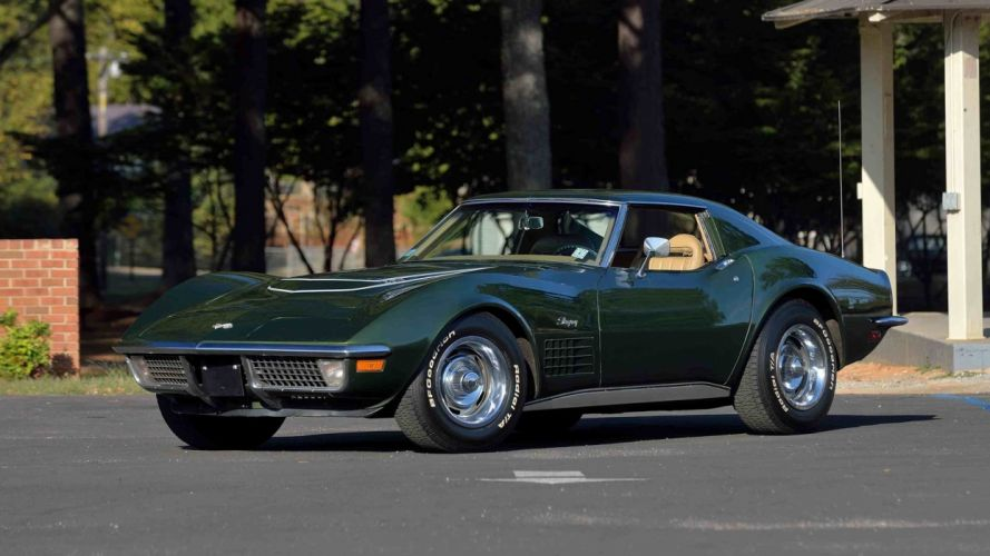 1970 CHEVROLET CORVETTE (c3) LT1 COUPE cars classic wallpaper