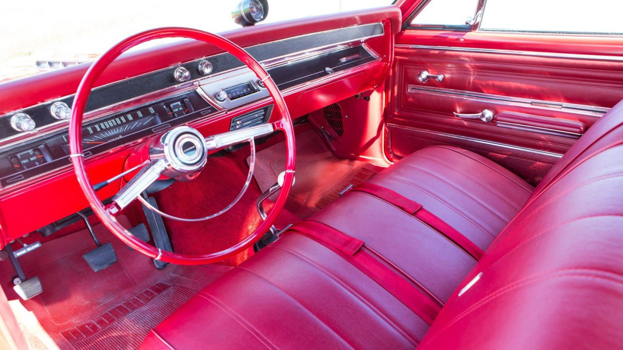1966 CHEVROLET CHEVELLE-SS cars coupe classic red wallpaper