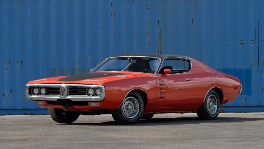 1972 DODGE CHARGER cars classic wallpaper