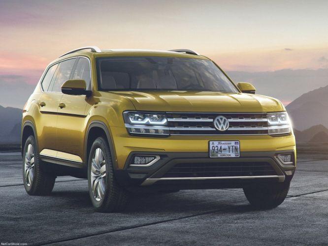 Volkswagen Atlas cars suv 2017 wallpaper