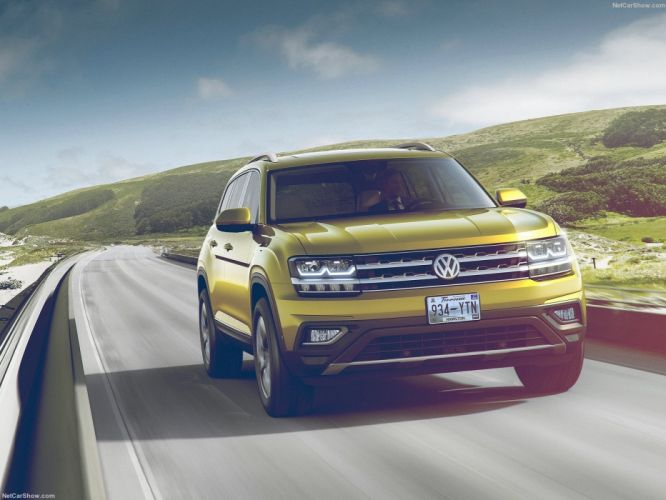 Volkswagen Atlas cars suv 2017 wallpaper