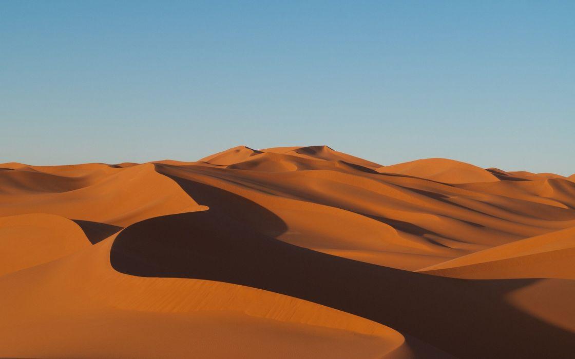 desierto dunas arena naturaleza wallpaper