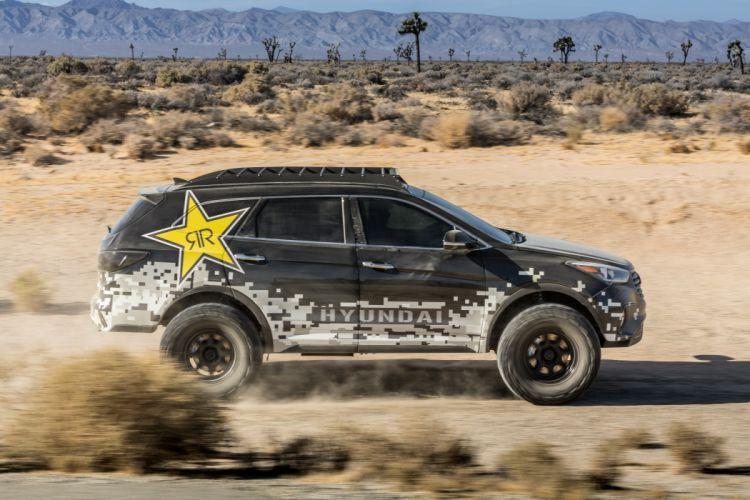 Rockstar Hyundai Santa-Fe Concept cars suv SEMA 2016 wallpaper