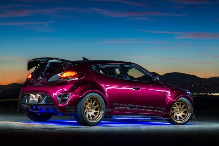 Gurnade Hyundai Veloster Concept cars coupe SEMA 2016 wallpaper