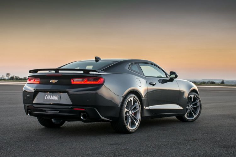 Chevrolet Camaro (SS) coupe cars 50th Anniversary 2016 wallpaper