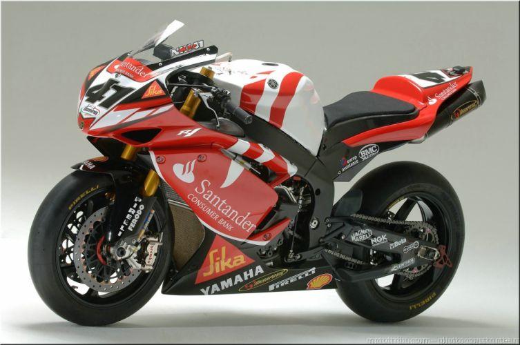 Yamaha (R1) SBK motorcycles 2007 wallpaper