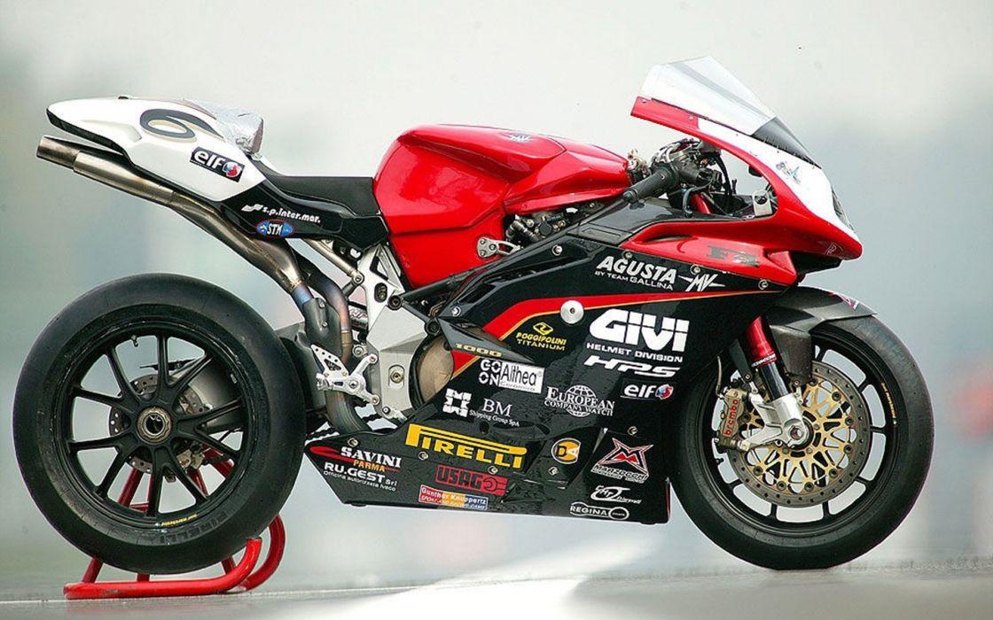 Motorcycles MV-Agusta-F4 -SBK -2007 wallpaper